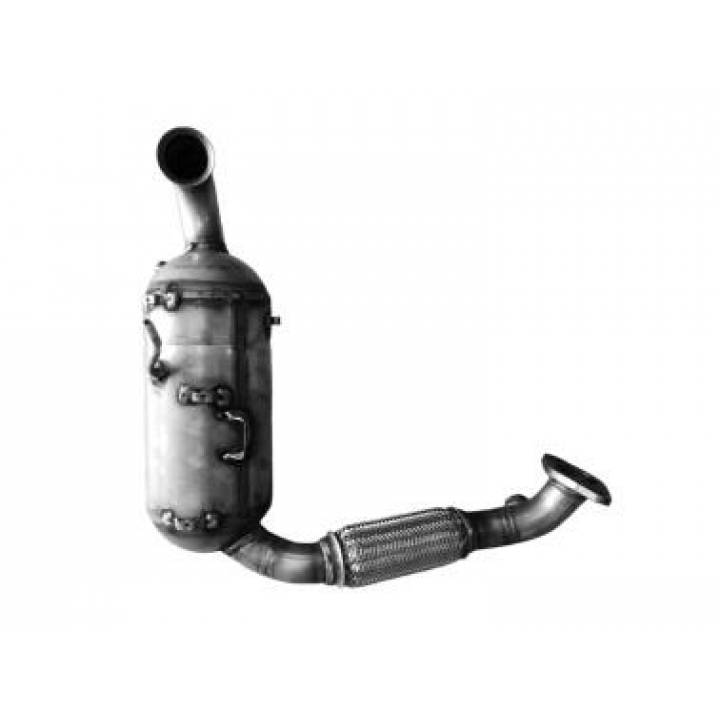 Roetfilter DPF Ford Focus 1.6 TDCI met oe CV6Q-5H270-AD